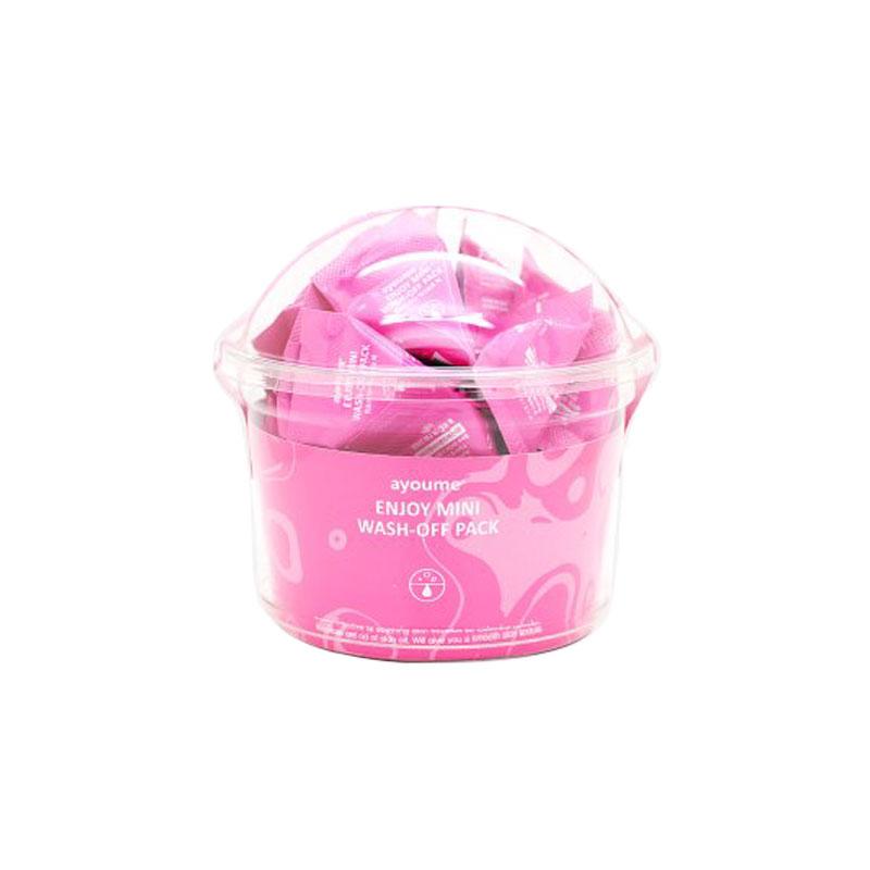 [AYOUME] Enjoy Mini Wash-Off Pack 3g*30ea (Weight : 150g)