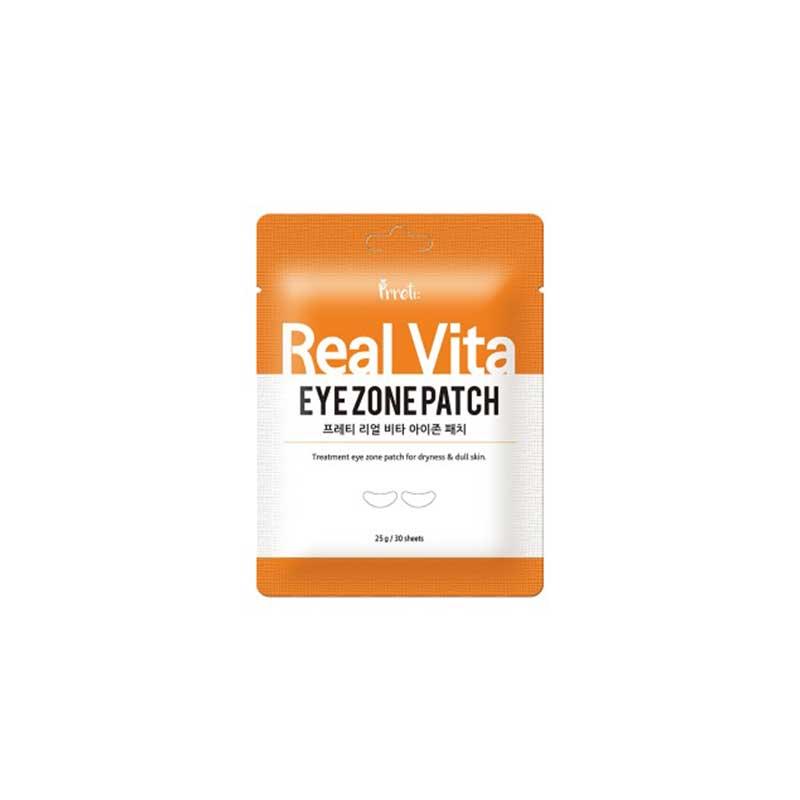 [PRETTI] Real Vita Eye Zone Patch 30sheets 25g (Weight : 34g)