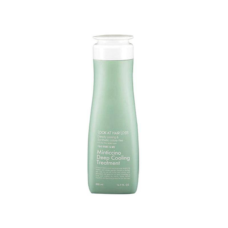 [DAENG GI MEO RI] Look At Hair Loss Minticcino Deep Cooling Treatment 500ml (Weight : 591g)