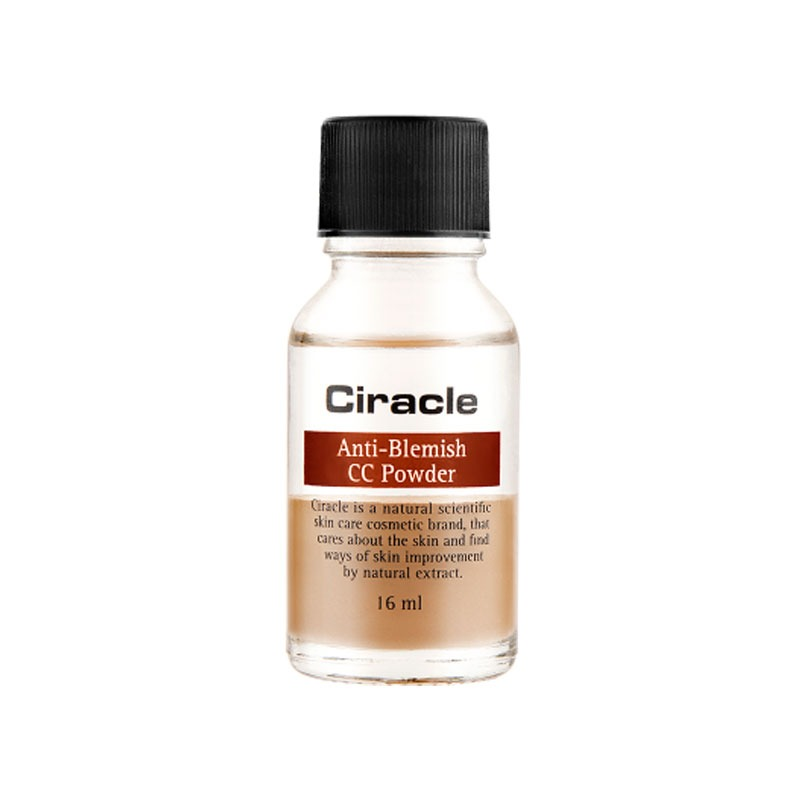 [CIRACLE] Anti-Blemish CC Powder 16ml (Weight : 66g) - Own label brand  Beautynetkorea Korean cosmetic
