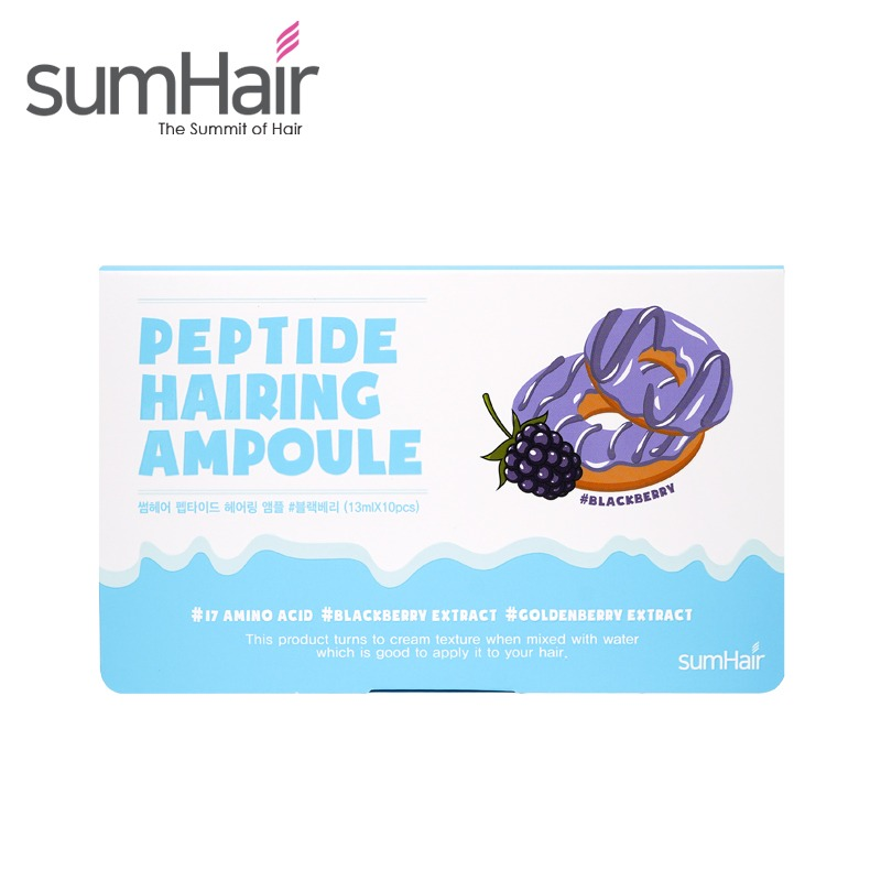 [SUMHAIR] Peptide Hairing Ampoule 13ml * 10pcs (Weight : 224g)
