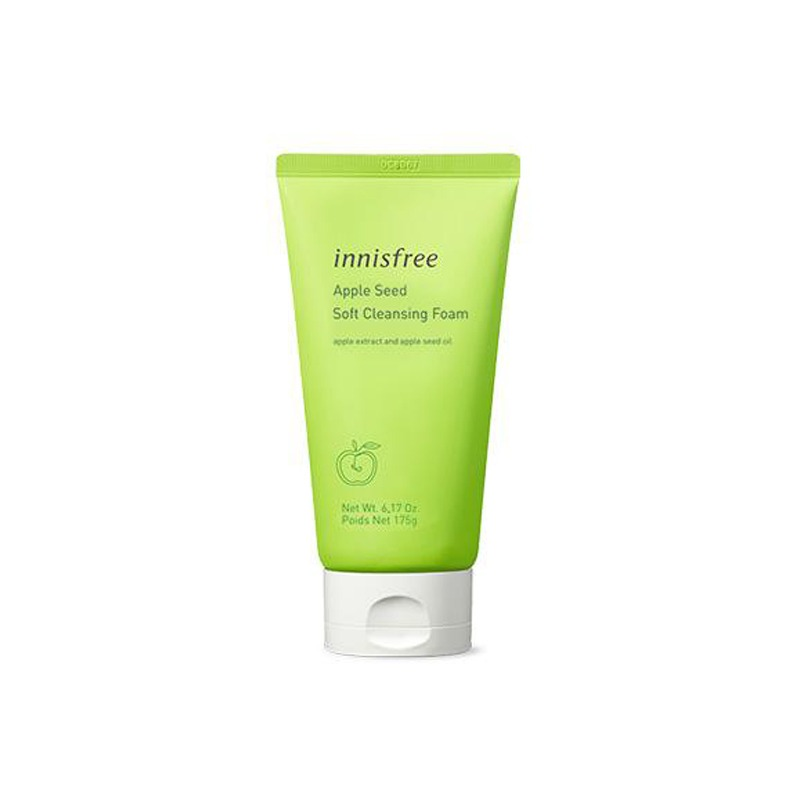 [INNISFREE] Apple Seed Soft Cleansing Foam 150g (Weight : 186g)