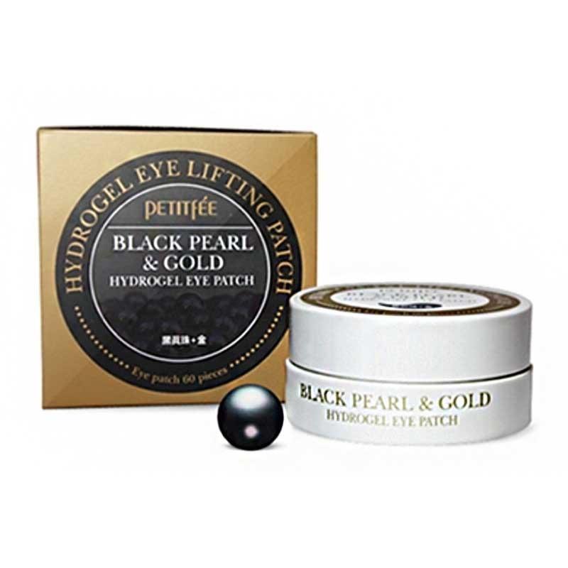 [PETITFEE] Black Pearl & Gold Eye Patch (1.4g*60pcs) (Weight : 184g)