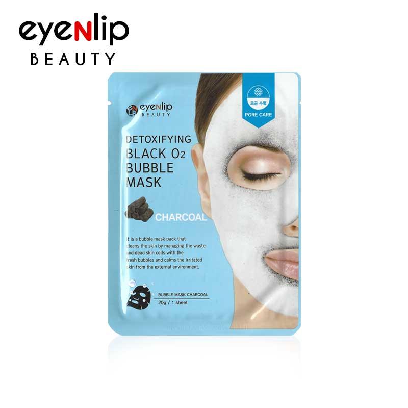 디톡시파잉 블랙 오투 버블 마스크 숯 20g Detoxifying Black O2 Bubble Mask #Charcoal