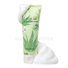[SEANTREE] Aloe Cleansing Foam 120ml (Weight : 148g)