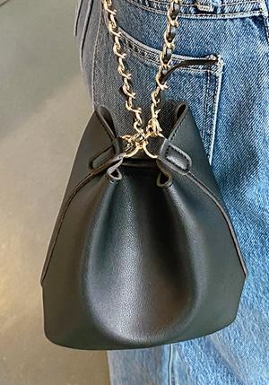 エコレザーミニチェーンバッグ