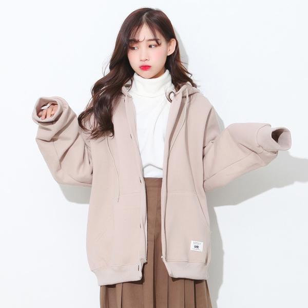 Cute hooded cardigan