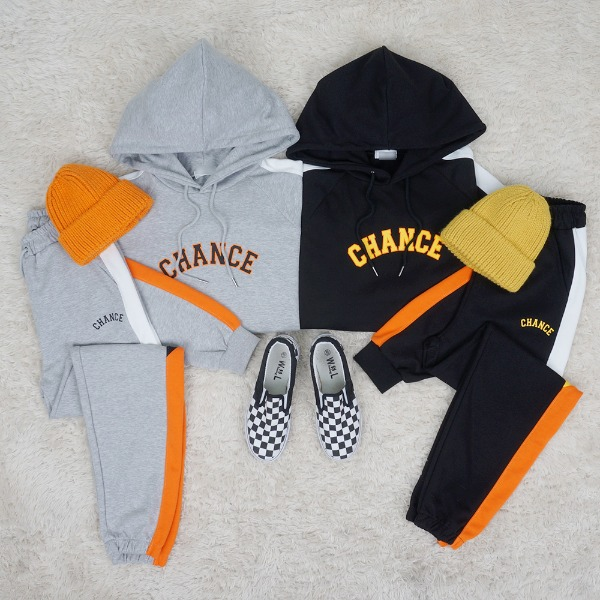 Chance Color Hooded T-shirts