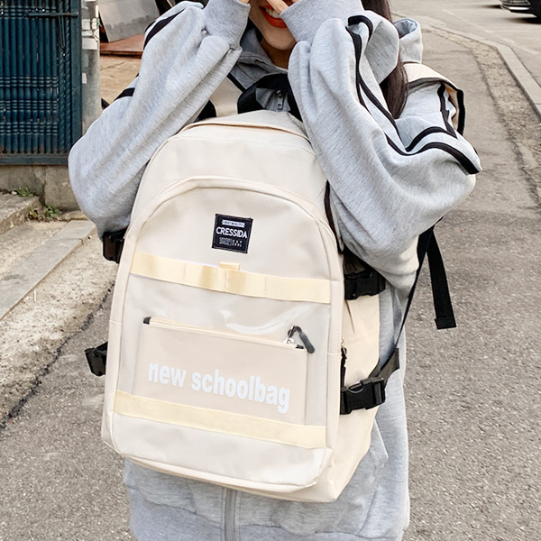 UE New School Backpack 5color + pouch ♡