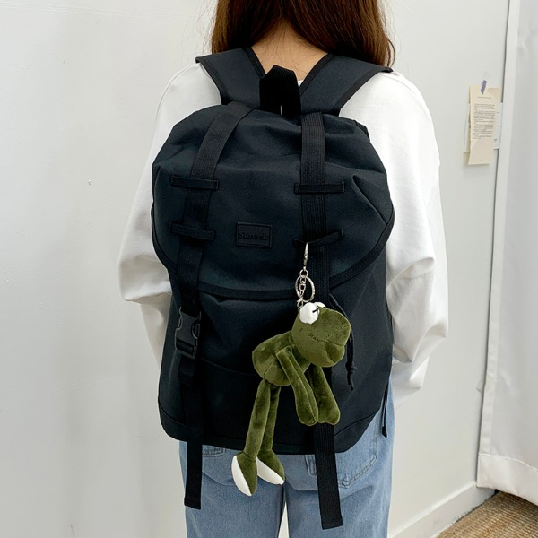 cover backpack with doll