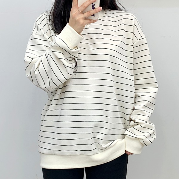 Eunice Striped Sweatshirts