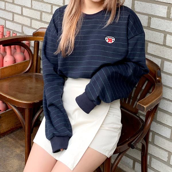 Callie Stripe Sweatshirts