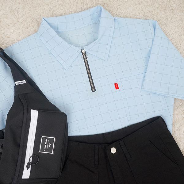 Quadrangle Ring Short Sleeve Shirt