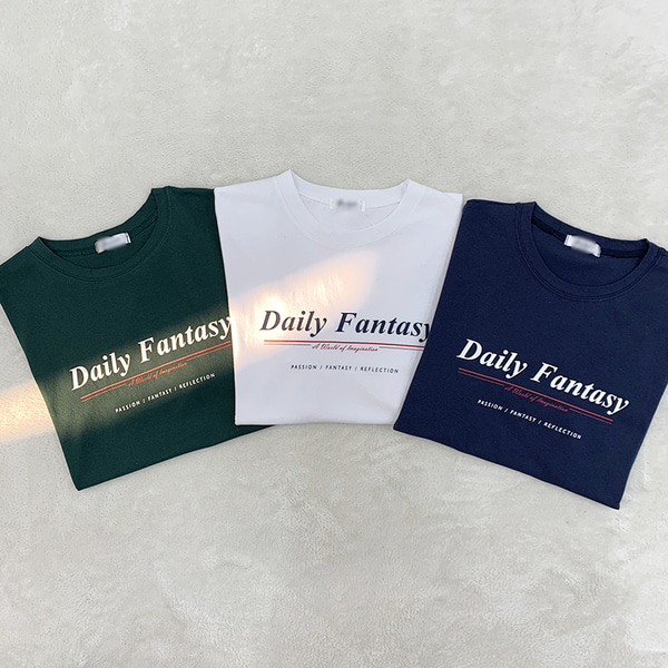 Daily emotional short sleeve t