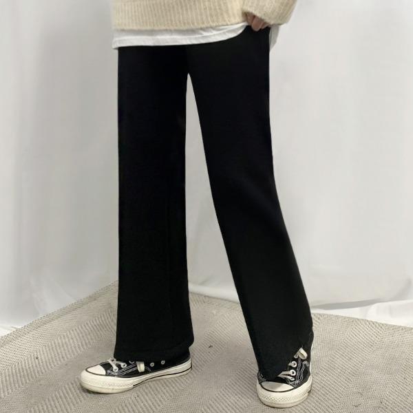 【S-XXL】Correction Fit Span Brushed Slacks(3 styles)