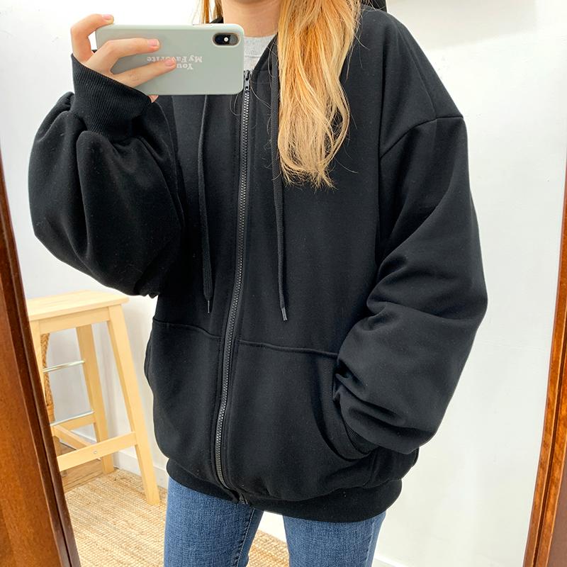 긴팔 티셔츠 모델 착용 이미지-S1L33