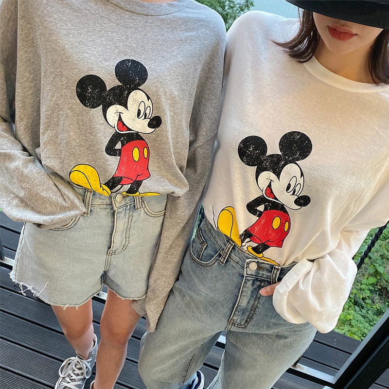 Vintage Mickey Loose T-Shirt_H65051