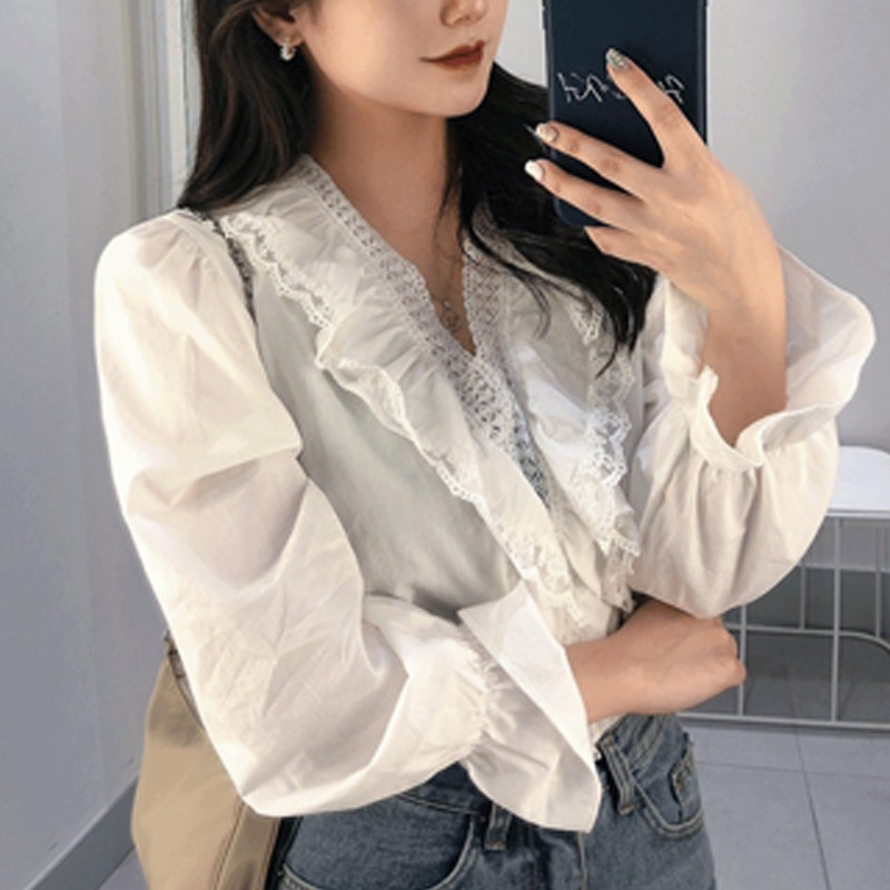 The Sky Is The Audience Lace Blouse