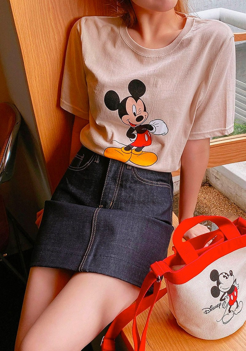 Disney Mickey Chocolate Mousse T-Shirt_H65485