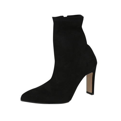 Dabagirl Pointed Toe High Heeled Ankle Boots