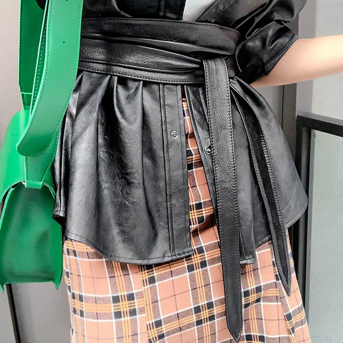 Dabagirl Faux Leather Belt