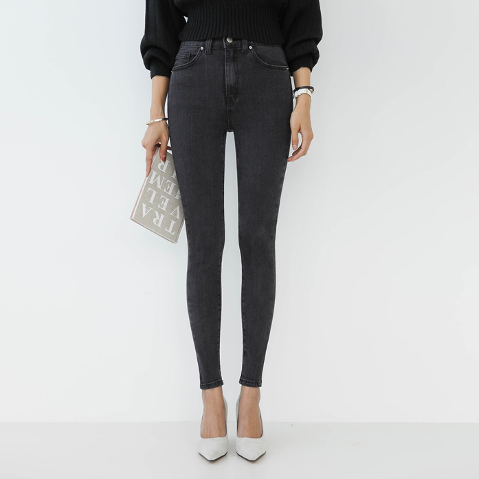 Dabagirl Cropped Skinny Ankle Jeans