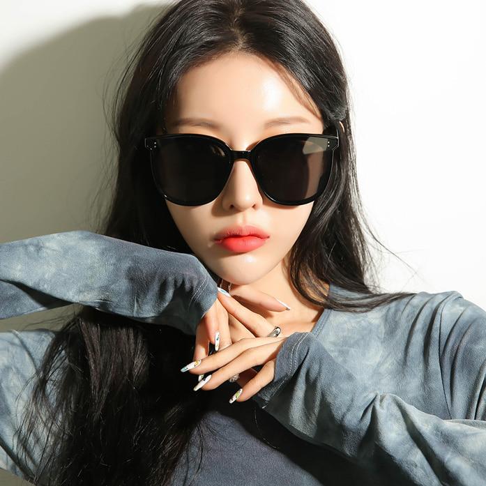Dabagirl Oversized Rounded Lens Sunglasses