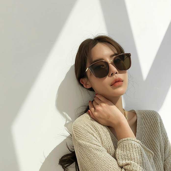 Dabagirl Oversized Cat Eye Sunglasses