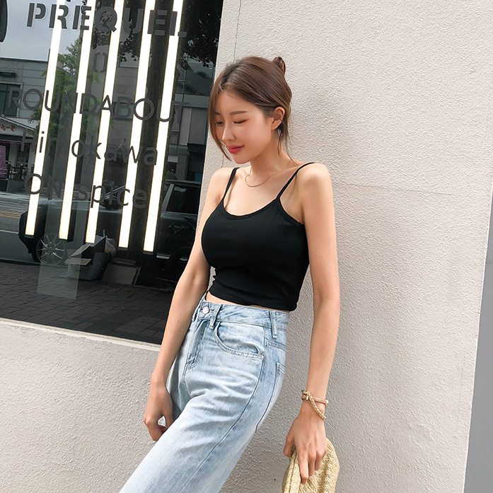 Dabagirl Backless Cropped Sleeveless Top