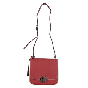 Dabagirl Stitch Detail Buckled Crossbody Bag