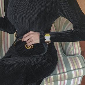 Dabagirl Scalloped Cuff Bracelet
