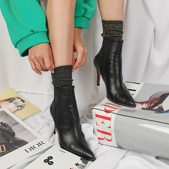 Dabagirl Pointed Toe Ankle Boots
