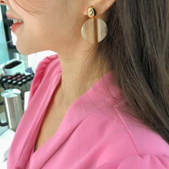 Dabagirl Marbled Drop Earrings