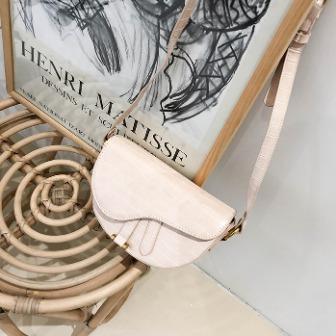 Dabagirl Half-Circle Mini Flap Bag