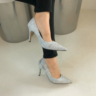 Dabagirl Patterned Pointed-Toe Stiletto Pumps