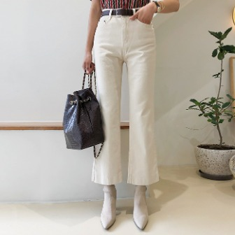 Dabagirl Relaxed Fit Bootcut Pants