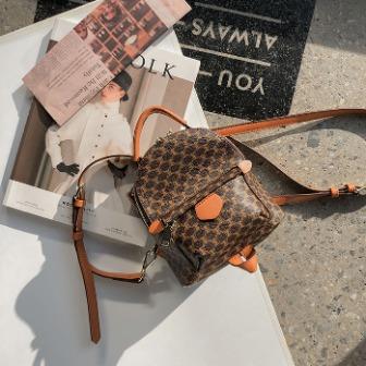 Dabagirl Patterned Faux Leather Backpack