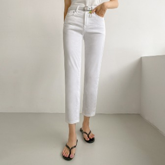 Dabagirl Cropped Straight-Leg Pants