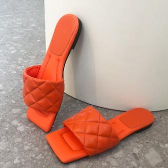 Dabagirl Quilted Upper Slide Sandals