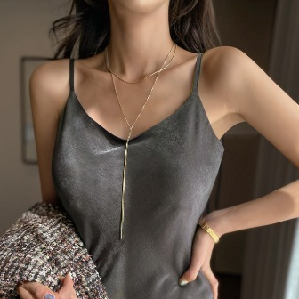 Dabagirl Layered Lariat Chain Necklace