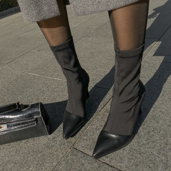 Dabagirl Pointed Toe Cap Ankle Boots