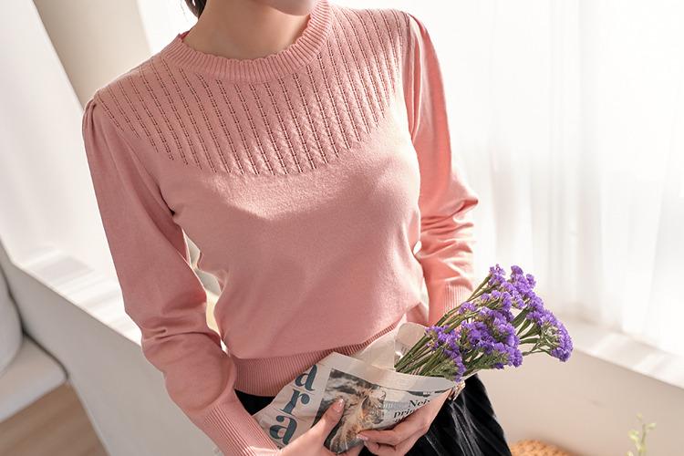 [후기145개]로샤 스카시 셔링니트(3color) 아이보리,핑크,블랙