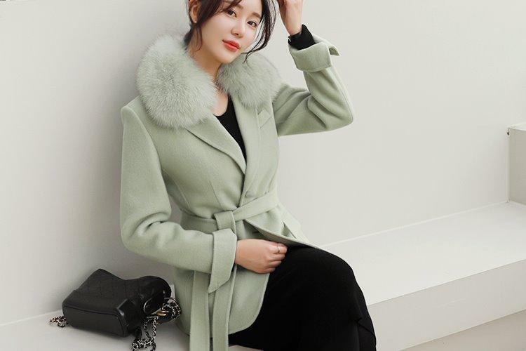 [러패제작/한정수량](mint) 하프 폭스퍼 핸드메이드
