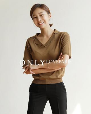 [러패독점][후기101개]ⓡ세라 베이직 카라니트(2color) 브라운,블랙ⓚ국내제작굿퀄니트