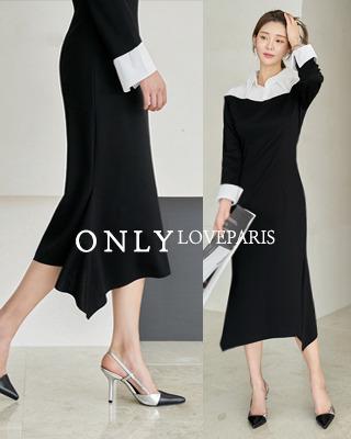 [러패독점]비비안 언발셔츠 원피스