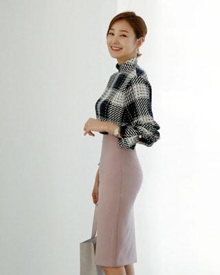 [후기53개](pink) 봄내내 완벽 H라인스커트