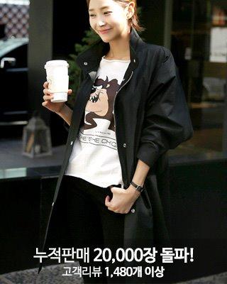 [러패찬스6,200원할인][후기1480개]아크 블랙 야상♥ 당일 배송중 ♥