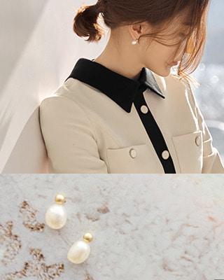 [후기132개]로얄 담수진주 이어링