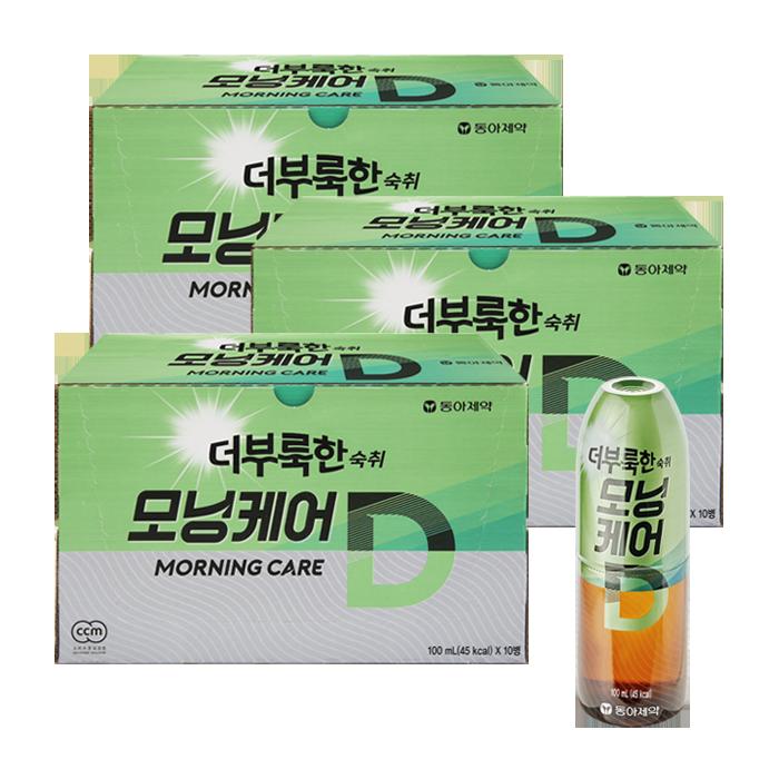 더부룩한 숙취 모닝케어D 100ml 30병(20병+10병)