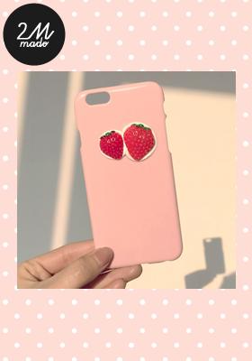 2PER PHONE CASE(iphone)_STRAWBERRY이뻐2%